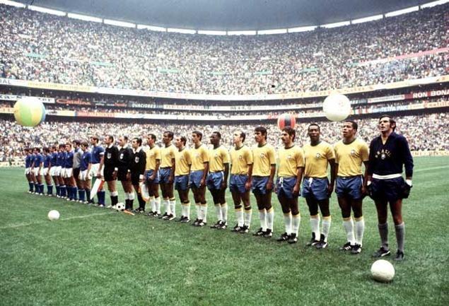 Jogos Eternos – Brasil 4×1 Itália 1970