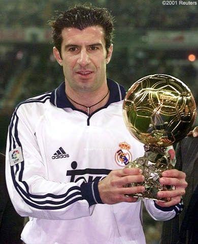 Bola de Ouro, em 2000...