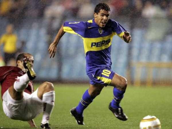 Tévez: atacante foi um dos principais jogadores do clube naquele final de 2004.