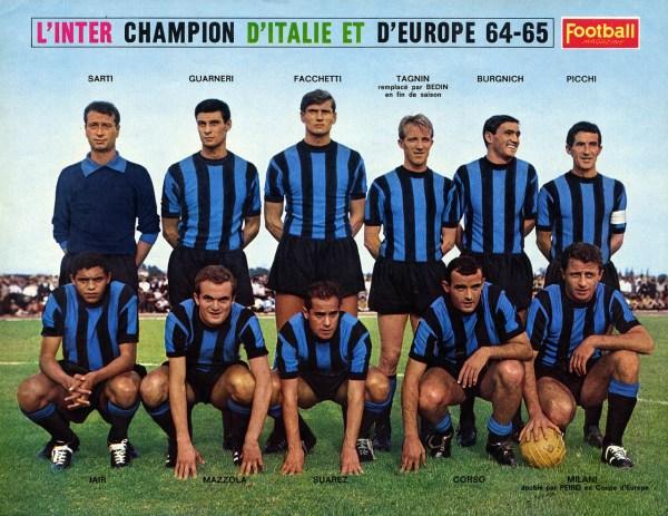 O 11 ideal da Grande Inter, um dos maiores esquadrões da história.