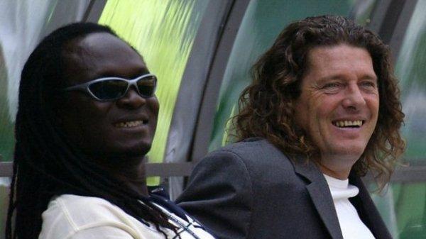 A chave de Senegal na Copa era terrível, mas Jules Bocande (assistente técnico) e Bruno Metsu não estavam nem aí.