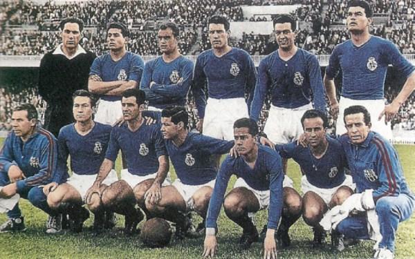 O Barcelona se vestiu de azul para disputar a Copa das Cidades com Feiras.