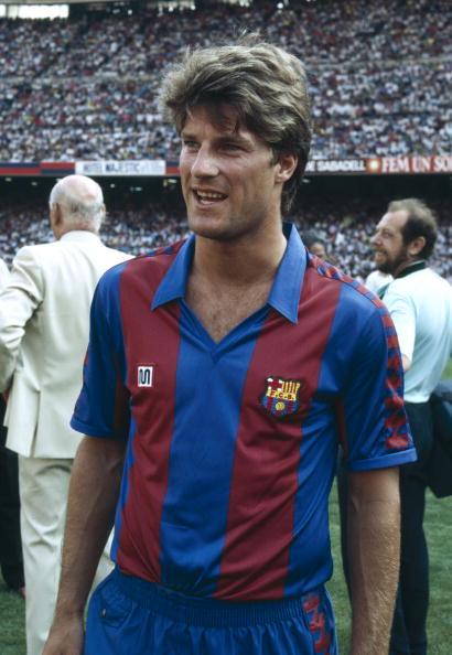 BT Sport, Football, pic: circa 1990, Spanish League, Michael Laudrup, Barcelona, 1989-1994