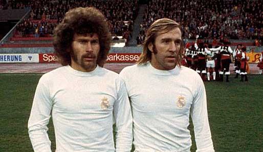 Breitner e Netzer, as estrelas alemãs do Real Madrid nos anos 70.