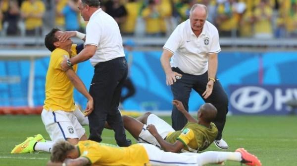 Choro, choro e mais choro: um dos muitos retratos do Brasil na Copa.