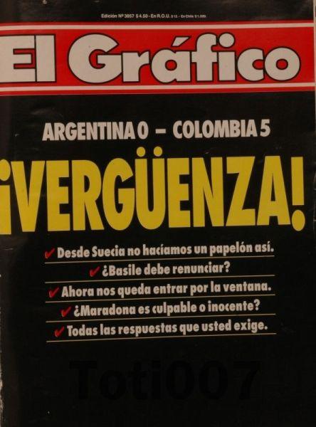 ... Consternação do lado argentino.