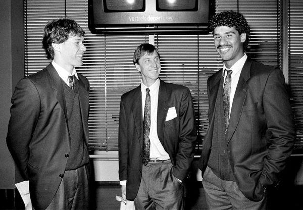 Van Basten, Cruyff e Rijkaard.