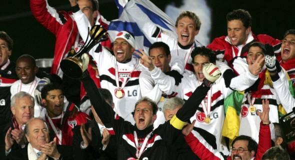 São Paulo tricampeão mundial: ano de 2005 foi inesquecível para o torcedor tricolor.