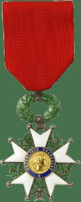 A Ordem da Legião de Honra.