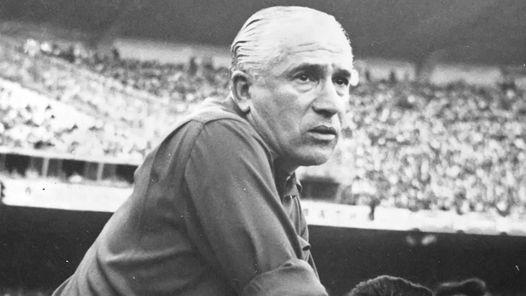 Stábile, técnico da Argentina dos tempos de ouro.
