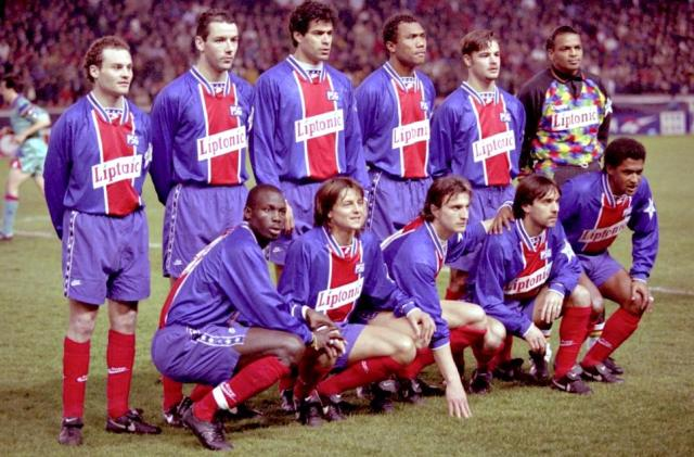 Esquadrão Imortal – Paris Saint-Germain 1992-1998