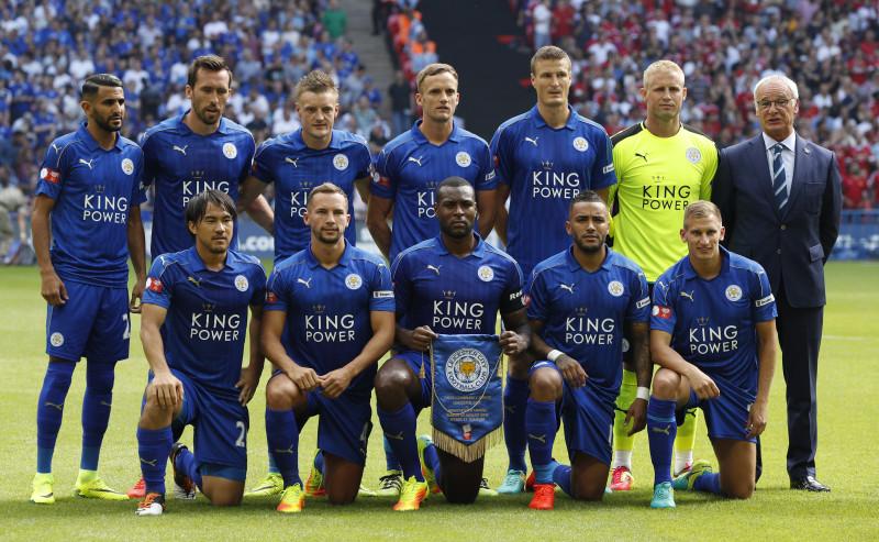 Resultado de imagem para Leicester City 2016/2017 escalação
