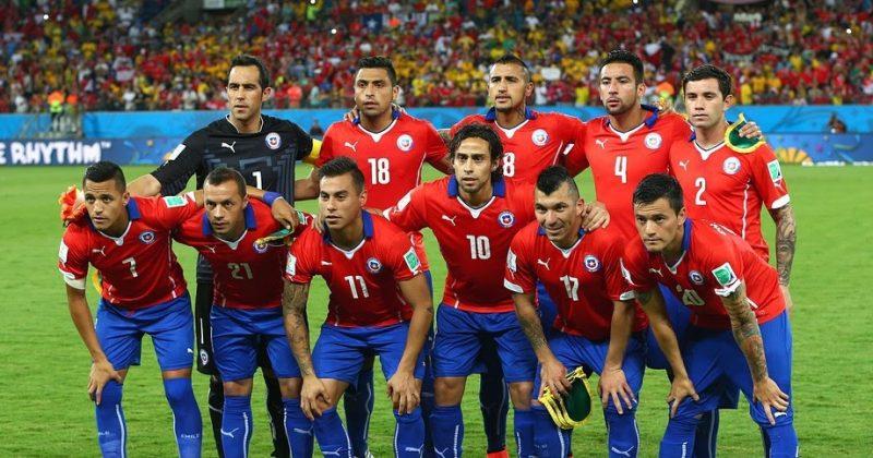 58dde8485c Seleções Imortais - Chile 2014-2016 - Imortais do Futebol