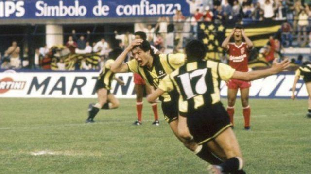 Jogos Eternos – Peñarol 1×0 América de Cali 1987