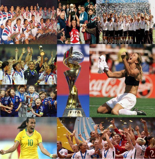 Copa do Mundo Feminina – História, Recordes e Campeãs