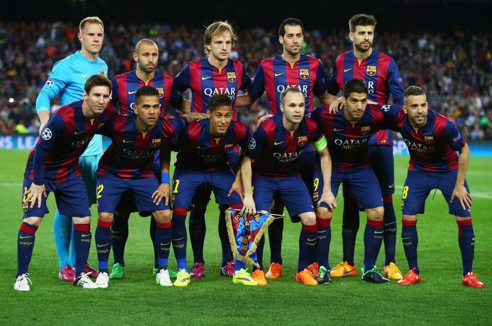Esquadrão Imortal Barcelona 2014 2017 Imortais Do Futebol