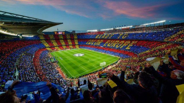 Camp Nou Templo Do Futebol Arte Imortais Do Futebol
