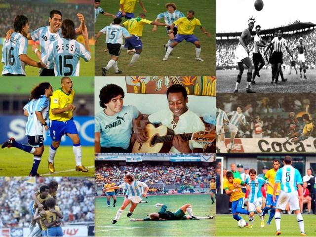 Brasil x Argentina – Superclássico das Américas