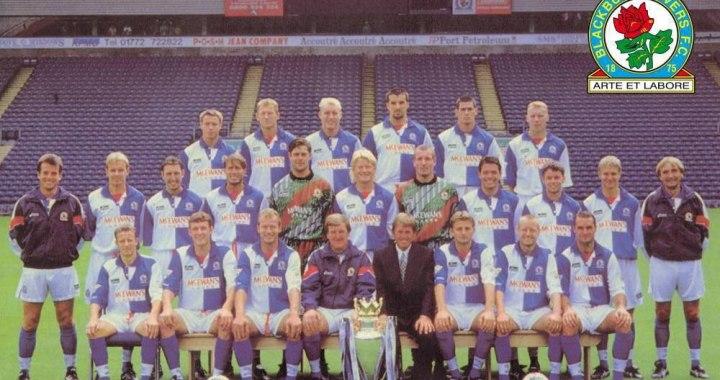 Esquadrão Imortal – Blackburn Rovers 1994-1995