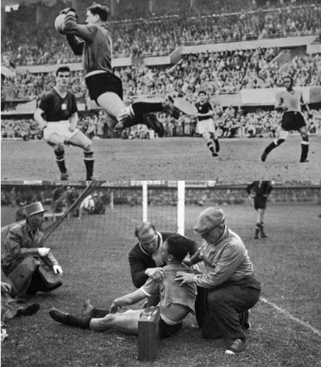 Jogos Eternos – Hungria 4×2 Uruguai 1954