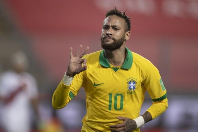 Gols históricos de Neymar fazem Seleção Brasileira crescer nas cotações de apostas para o Mundial de 2022