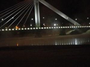 ロヴァニエミにあるロウソク橋
