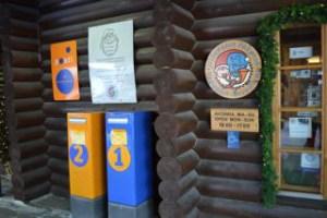 サンタクロース村の郵便局