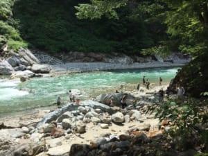 河原露天温泉