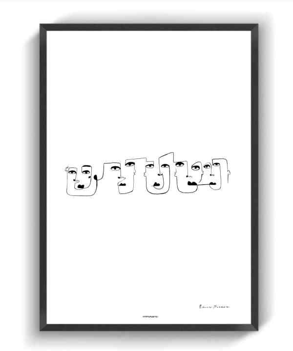 Line Faces