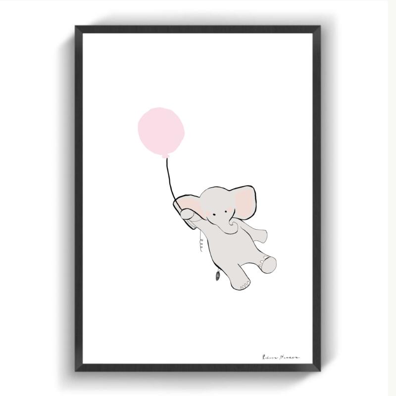 Lyserød Dumbo II