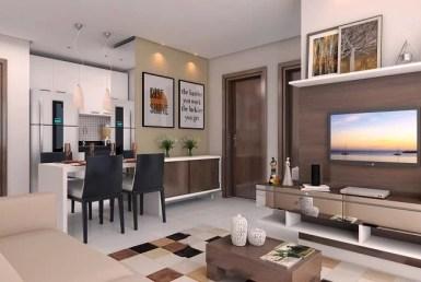 Bela Cintra Prime, apartamentos no Turú, 2 quartos, 46 e 66m², São Luís MA. 13