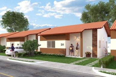 Condomínio Margareth 2, Casas com 2 quartos, 50m². 3