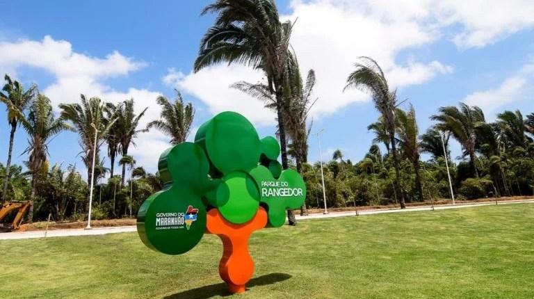 Parque do Rangedor, muito verde, lazer e segurança para toda família