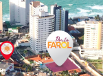 Edifício Porto Farol, apartamentos na Ponta do Farol, 3 suítes, 119m² a 185m², e cobertura 3