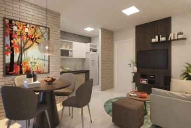Village Alvorada I, apartamentos de 43m² e 46m², 2 quartos, perto da UEMA, São Luís MA 17