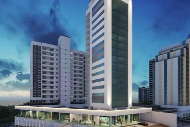 Edifício Millennium Corporate Tower, salas comerciais de 111m² e 122m², Renascença II, São Luís MA 2