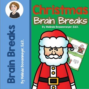 Christmas Brain Break Cards