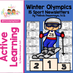 Winter Olympic Newsletter Set