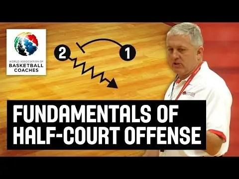 Fundamentals of Half-Court Offense – Don Showalter USA Youth Basketball – Basketball Fundamentals