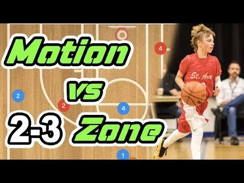 Which Motion Basketball Plays Work Best vs 2-3 Zone Defense