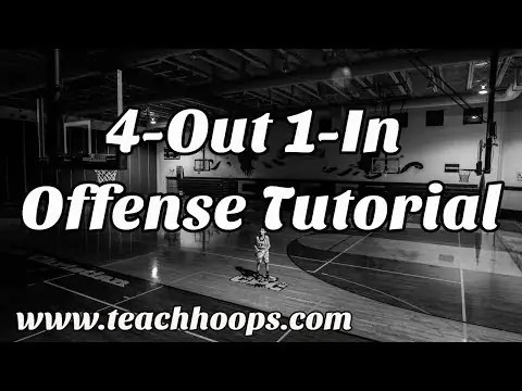 4 Out, 1 In Offense — Basketball Coaching Tutorial