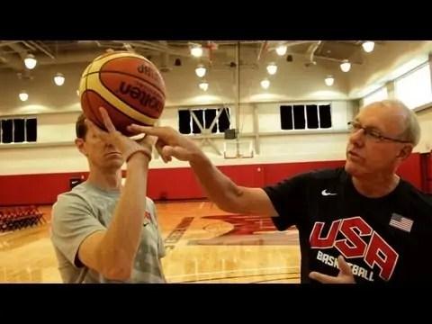 Coaching Tips: Basketball — Finger Tips