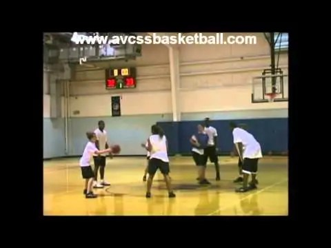 Center Circle Defensive Drill  for Youth Basketball