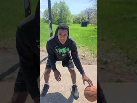 How to: Get better ball Handling Drills at home college workout #Shorts
