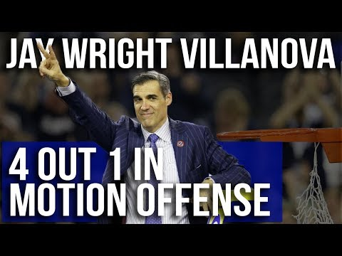 Villanova Wildcats Jay Wright Motion Offense – Film Room