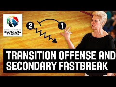 Transition Offense and Secondary Fastbreak – Jill Schneider – Basketball Fundamentals