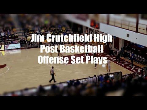 Jim Crutchfield High Post Basketball Offense Set Plays