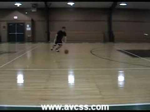Basketball Drill – Stutter Step Ball Handling