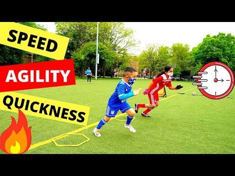 10 Speed, Agility & Quickness Drills for Youth Soccer Players ⚽. Speed Ladder Drills.