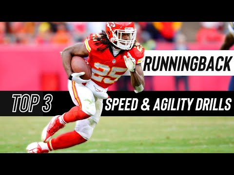 3 BEST Running Back Speed & Agility Training Drills